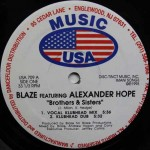 Blaze featuring Alexander Hope - Brothers & Sisters