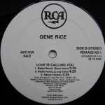 Gene Rice - Love Is Calling You