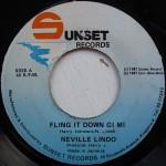 Neville Lindo - Fling It Down Gi Mi
