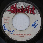 U Roy - The Right To Live on Black Art