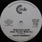 Jackie Demerritt - Whats Love (Got To Do With It)