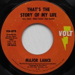 Major Lance - That's The Story Of My Life on Volt