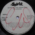 The Congos - Heart Of The Congos Label