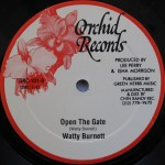 Watty Burnett - Open The Gate Orchid Records