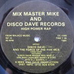Mix Master Mike And Disco Dave Records - High Power Rap