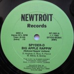 Spyder-D - Big Apple Rappin