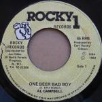 Al Campbell - One Beer Bad Boy